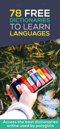 78 FREE Online Dictionaries to Learn a Language Fast [Free ebook Guide] Best Language Learning Apps, Learning Languages Tips, Learning Resources, Learning Spanish, Language Dictionary, Free Dictionary, Language Quotes, Language Arts, Italian Phrases