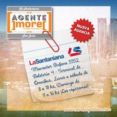 [Nuevo #Agente]more[ #SanJusto ✹ La Santaniana ⇉ Monseñor Bufano 3352 - Boletería 4 - Terminal de Ómnibus. Lunes a sábado de 8 a 18 hs. Domingo de 9 a 16 hs.  ⇉ También llegamos y salimos desde, #TalarDePacheco, #Retiro y #LaNoria!  ¡Los esperamos! ]more[ www.moreargentina.com