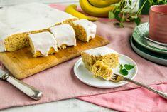 Banankake i langpanne | Enkel kakeoppskrift fra Melange Let Them Eat Cake, Recipies, Dairy, Cheese, Baking, Ethnic Recipes, Sweet, Desserts, Drinks