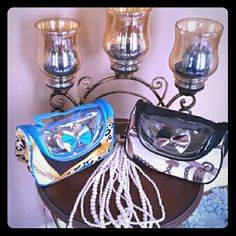 2 in 1 Lady's Cosmetic and Pampering Bags Chic Cosmetic Carriers Bags Cosmetic Bags & Cases