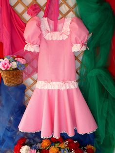 LOLAYLO: CHULAPAS MADRILEÑAS Summer Dresses, Photo And Video, Regional, Madrid, Projects, Fashion, Kids Fashion, Children Costumes, Girls Dresses
