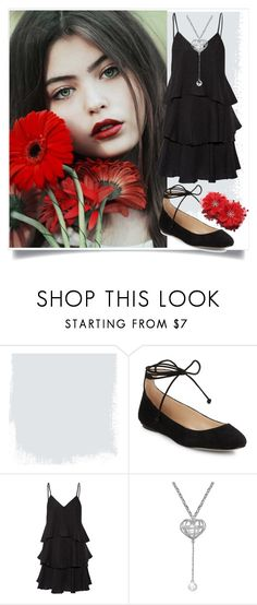 """""""Flower red"""" by robbys73 ❤ liked on Polyvore featuring Karl Lagerfeld and Paul & Joe"""