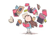 Matilda at 25 - Roald Dahl's bookish heroine is still an inspiration to the quiet girls. I Love Books, My Books, Harr Potter, Quiet Girl, Shel Silverstein, Reading Art, Reading Books, World Of Books, Illustration Girl