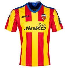 Camiseta del Valencia Tercero 2013-2014 para más de 300 € ahorro 20% http://www.camisetasdefutbolenlinea.es/camiseta-del-valencia-casa-20132014-p-515.html