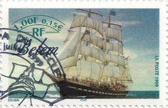 Briefmarke-Europa-Westeuropa-Frankreich-0.15-1999-Belem