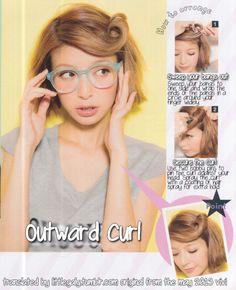 gyaru hair tutorial | Tumblr