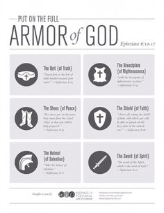 Get fully dressed everyday + mindfully tap into the spiritual tools for the spiritual battle: The Full Armor of God **FREE PRINTABLE** Ephesians by ericka Christian Life, Christian Quotes, Bible Scriptures, Bible Quotes, Armor Of God, Bible Knowledge, Spiritual Warfare, Spiritual Armor, Jesus Freak