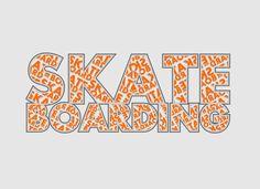 Skateboarding font