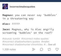 I feel like Clary would be there with Alec yelling too