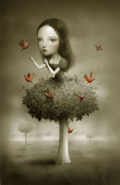 Beautiful+Nightmares+by+Nicoletta+Ceccoli | Nicoletta Ceccoli
