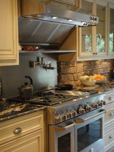 Kitchen Rock Backsplash Design, Pictures, Remodel, Decor and Ideas - page 4