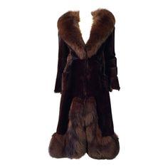 Christian Dior Haute Couture Fur Coat same as Brigitte Bardot's ca.1970 | 1stdibs.com
