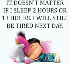 Tired all the time!