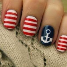 Sailor nails <3