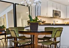 Ian Stallings is an interior designer based in San Francisco. Custom Mirrors, Dining Table, Dining Rooms, Interior Design, Kitchen, Furniture, Home Decor, San Francisco, Chairs