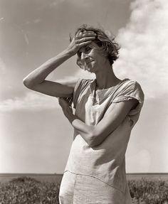 1938 Childress, Texas. Nettie Featherston by Dorothea Lange