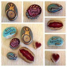 Painted Rocks - Birth Affirmations (by Kerri Rivers)