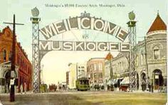 Old Muskogee sign