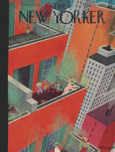 The New Yorker - Saturday, June 12, 1937 - Issue # 643 - Vol. 13 - N° 17 - Cover by : Adolph K. Kronengold
