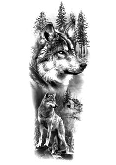 Forarm Tattoos, Hand Tattoos, Wolf, Drawings, Lion Tattoo Design, Cool Drawing Designs, Tattoos, Tatoo, Animals