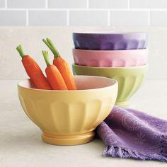 Pastel Café au Lait Bowls from Sur la Table