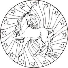 pferde mandala