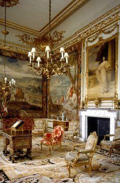English Interior, Antique Interior, Classic Interior, Winston Churchill, Battle Of Blenheim, Blenheim Palace, Blenheim Castle, Palace Interior, Grand Homes