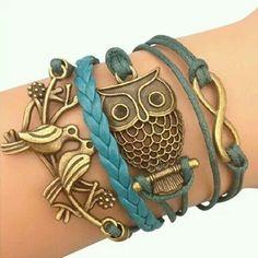Bird's bracelet