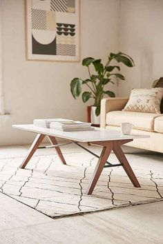 Saints Coffee Table - Urban Outfitters