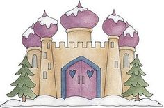 Castles and knights clip art