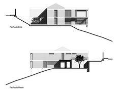 José Miguel Mantilla Salgado, JAG Studio · La Casa del Profesor de Historia Arch, Floor Plans, Diagram, Studio, Facades, Lateral Raises, Houses, Professor, Pictures
