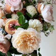 Garden roses, garden-inspired design, natural wedding flowers, peach and blush, natural floral design, hamptons wedding, montauk wedding, new york florist Hamptons Wedding, The Hamptons, Natural Wedding Flowers, Color Stories, My Dream Home, Floral Design, Floral Wreath, Peach, Design Inspiration