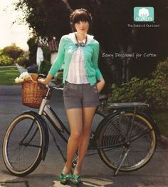 zooey deschanel. LOVE her style.