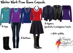 work from home capsule