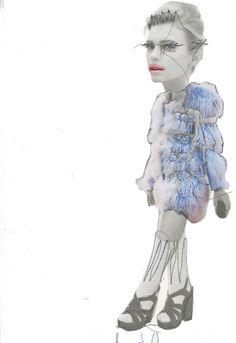 Collage & Stitching Street Style sascha helim