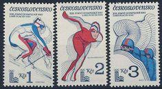 K-1 Czechosłowacja Nr. 2544/46 ** Olimpiada Sport