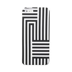 iPhone 5 Case in Signature Zig Zag ❤ liked on Polyvore featuring accessories, tech accessories, phone, iphone, phone cases and phonecase