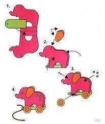 Resultado de imagen para servilletero de elefante
