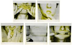 Bruce Nauman - used multiple images of facial expressions