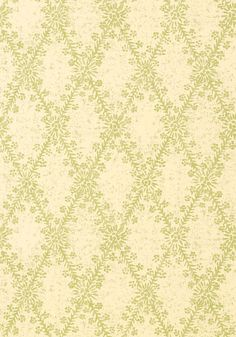 La Gioconda #wallpaper in #green from the Artisan collection. #Thibaut