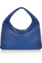 Bottega Veneta Maxi Veneta intrecciato leather shoulder bag