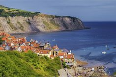 maybe a stop at Robin Hood's Bay, England on the way to Amsterdam