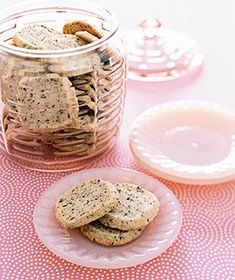 Earl Grey Tea Cookies!