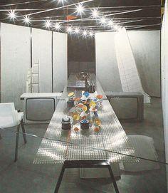 zonkout:  Michele De Lucchi at the XVII Triennale, 1983.