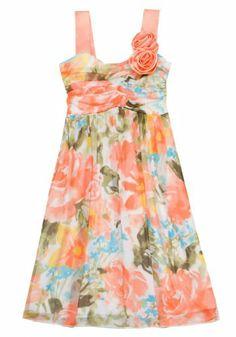 Size-7, Orange, RRE-65183E, Orange Multi Floral Print Asymmetric Ruched Bodice Chiffon Dress, Rare Editions TWEEN GIRLS 7-16 Rare Editions,http://www.amazon.com/dp/B00CCKV2LC/ref=cm_sw_r_pi_dp_e294sb16392CZF99