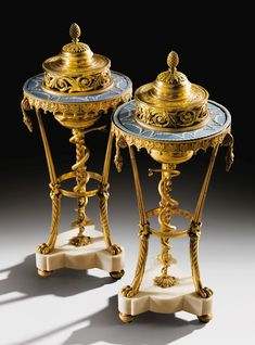 date unspecified A pair of gilt-bronze mounted, Wedgwood Manufactured blue and white biscuit athéniennes pots-pourris, Louis XVI Estimate — EUR LOT SOLD. Pot Pourri, Lion Paw, Modern Art, Contemporary, Floral Garland, Russian Art, Louis Xvi, Museum Of Fine Arts, Wedgwood