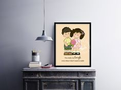 Make me laugh | #Foreverlove | #Love #quote | #Wedding #Anniversary gift | #Valentine gift  | #HomeDecor Print | #Printable Quote | #Typography | by InspirationWallDecor on Etsy. Check more #digitalprint #walldecor #artprint themed at my #etsy store:  www.etsy.com/shop/InspirationWallDecor