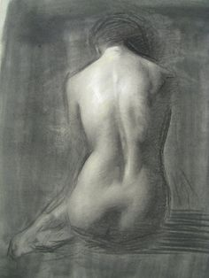 Beautiful back study from Juliette Aristides