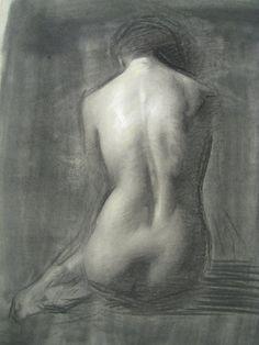Beautiful back study from Juliette Aristides