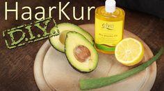 DIY Haarkur gegen sprödes, trockenes Spliss Haar - Avocado, Aloe Vera